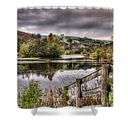Parc Cwm Darran 1 Shower Curtain