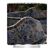 Parc Guell Barcelona Shower Curtain