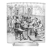 Paris: Chat Noir, 1889 Shower Curtain