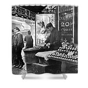 Paris: Chestnut Vendor Shower Curtain