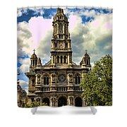 Paris Church Shower Curtain