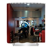 Paris Coiffure Shower Curtain
