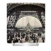 Paris Exposition, 1889 Shower Curtain