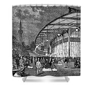 Paris: Exposition Of 1867 Shower Curtain