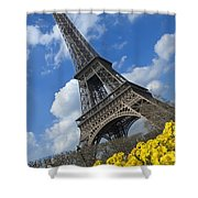 Paris, France Shower Curtain