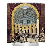 Paris: Halle Au Ble, C1785 Shower Curtain