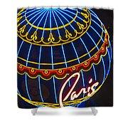 Paris Hotel Las Vegas Shower Curtain