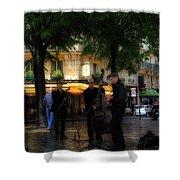 Paris Musicians Shower Curtain
