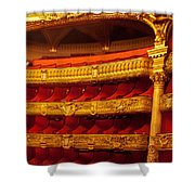 Paris Opera House Iv   Box Seats Shower Curtain