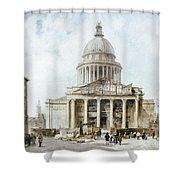 Paris: Pantheon, 1835 Shower Curtain