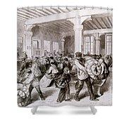 Paris: Pawnbroker, 1868 Shower Curtain