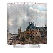 Paris: Pont Neuf, 1637 Shower Curtain