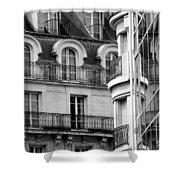 Paris Reflections 1 Shower Curtain