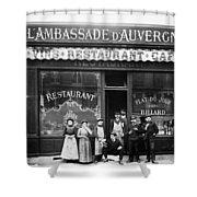 Paris: Restaurant, C1900 Shower Curtain