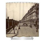 Paris: Rue De Rivoli, C1900 Shower Curtain