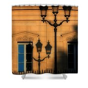 Paris Shadows Shower Curtain