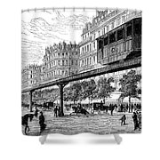 Paris: Tramway, 1880s Shower Curtain by Granger