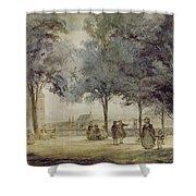 Paris: Tuilerie Gardens Shower Curtain