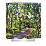 Park Hotel Avenue County Cavan Shower Curtain