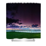 Park Pano Shower Curtain