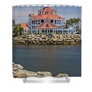 Parker's Lighthouse Shower Curtain