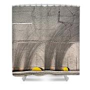 Parking Garage Shower Curtain