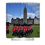 Parliament Building Ottawa Canada  Shower Curtain by Garry Gay