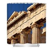 Parthenon Shower Curtain by Brian Jannsen