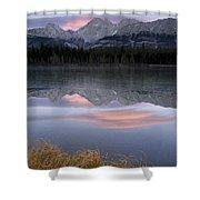 Partially Frozen Spillway Lake At Shower Curtain