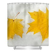 Partners Till The End Shower Curtain