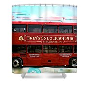 Party Bus Shower Curtain