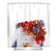 Party Decorations In A Bag Shower Curtain