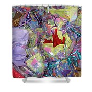 Party Favors Shower Curtain