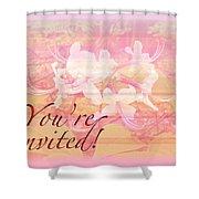 Party Invitation - General - Wild Azalea Blossoms Shower Curtain