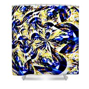 Party Time Abstract Shower Curtain