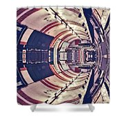 Passage Tubulaire - Archifou 45 Shower Curtain