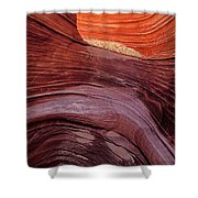 Passageway To The Wave Shower Curtain