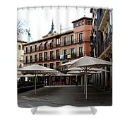 Passing By Zocodover Square Shower Curtain