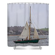 Passing St Mawes Shower Curtain