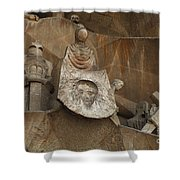 Passion Facade Spain Shower Curtain
