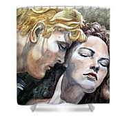 Passionate Embrace Shower Curtain