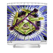 Passion's Fly Shower Curtain