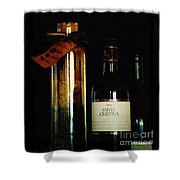 Pasta And Wine Shower Curtain
