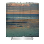 Pastel Reflections On The Coast Shower Curtain