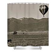 Pastoral Surprise Shower Curtain
