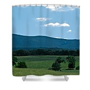 Pastureland Grazers Shower Curtain