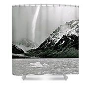 Patagonia Winds Shower Curtain