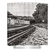 Path Of Indifference Shower Curtain