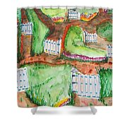 Path Of Life Shower Curtain