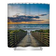 Path Of Peace Shower Curtain
